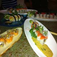 Photo taken at Musashino Sushi Dokoro by Aaron H. on 4/15/2012