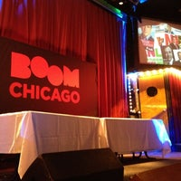 Photo taken at Boom Chicago by Pegla M. on 9/4/2012