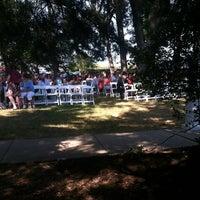 Photo taken at Thompson Alumni Center by Shayla K. on 7/21/2012