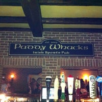 Photo taken at Paddy Whacks Irish Sports Pub by Brandon D. on 2/19/2012