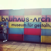 Photo taken at Bauhaus-Archiv by Jesse J. on 7/8/2012