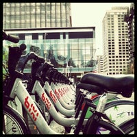 Photo taken at Station BIXI by JulienF on 5/6/2012
