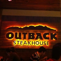 Photo taken at Outback Steakhouse by Adriana R. on 6/16/2012