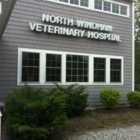 Photo taken at North Windham Veterinary Hospital by beckie l. on 5/16/2012