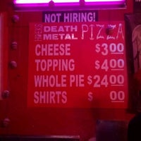 Photo taken at Hoek's Death Metal Pizza by Chris on 3/12/2012