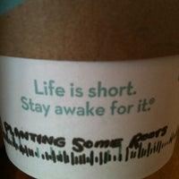 Photo taken at Caribou Coffee by Jake H. on 5/2/2012