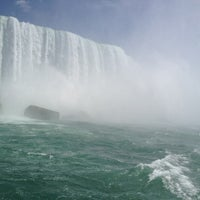 Photo taken at Maid Of The Mist - Canada entry by Cate H. on 5/6/2012