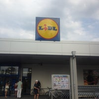 Photo taken at Lidl by Ивайло В. on 8/18/2012