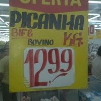 Photo taken at Supermercados Cristal by Brunno C. on 7/10/2012