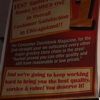 Photo taken at Sunset Foods by Jeanne on 4/5/2012