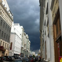 Photo taken at Bolshaya Dmitrovka Street by Denis F. on 7/20/2012