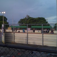 Photo taken at Suniland Roller Hockey Court by Melissa B. on 8/18/2012