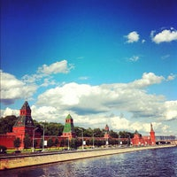 Photo taken at Moskva River by Haiying W. on 7/23/2012