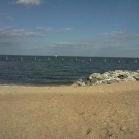 Photo taken at North Beach Boardwalk by kaleesi R. on 3/1/2012