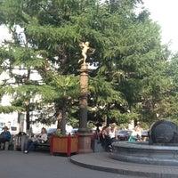 Photo taken at Памятник В.И. Сурикову by Valentin R. on 7/12/2012