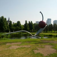 Photo taken at Minneapolis Sculpture Garden by Melissa B. on 6/10/2012