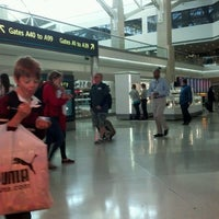 Photo taken at Concourse A by Joanne W. on 4/9/2012