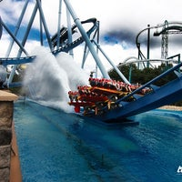 Photo taken at Busch Gardens Williamsburg by Nick M. on 7/23/2012