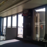 Photo taken at Gate C23 by Maxime B. on 2/26/2012