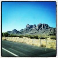 Photo taken at Picacho Peak by Robert M. on 6/9/2012