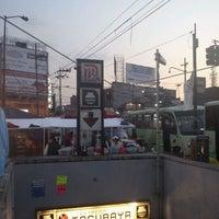 Photo taken at Metro Tacubaya by GaReto V. on 3/4/2012