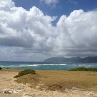 Photo taken at Laie Point by Monica S. on 6/1/2012