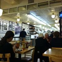 Photo taken at Famous 4th Street Delicatessen by Joshua G. on 5/8/2012