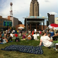 Photo taken at 80/35 Music Festival by Lisa B. on 7/7/2012