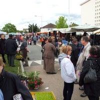 Photo taken at Saint-Doulchard by Jordan L. on 4/29/2012