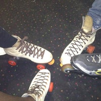 Photo taken at Starlight Skate Rink by Bamthagreat M. on 6/22/2012