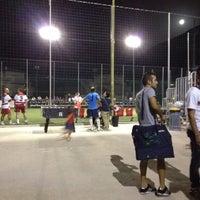 Photo taken at Circolo Sportivo (Oliena,Sardegna) by Pietro M. on 8/2/2012