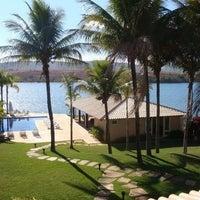 Photo taken at Escarpas do Lago by Janina B. on 2/17/2012