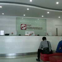 Photo taken at Bank Sinarmas by Deasy B. on 4/25/2012
