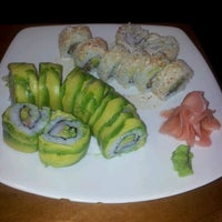 Photo taken at Sushi House by Ximena L. on 3/2/2012