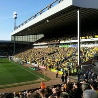 Photo taken at Carrow Road by Majid on 3/11/2012