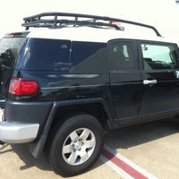 Photo taken at Toyota of Irving by Kimball A. on 8/24/2012