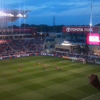 Photo taken at Toyota Park by Mark T. on 8/19/2012