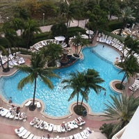 Photo taken at Loews Miami Beach Hotel by John H. on 3/14/2012