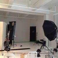 Photo taken at Hunt Slonem's studio Loft by Sarah L. on 5/2/2012