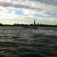 Photo taken at Neva River by Баронесса Ф. on 7/3/2012