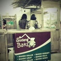 Photo taken at Gudang Bakso by Destina F. on 5/5/2012