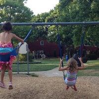 Photo taken at DeMun Park by Stephanie D. on 7/5/2012