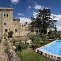 Photo taken at Hotel Parador de Jarandilla de la Vera by Clara S. on 8/5/2012