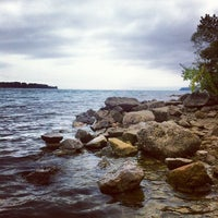 Photo taken at Belle Isle Hipster Beach by Brian M. on 9/2/2012