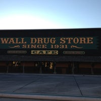 Photo taken at Wall Drug by Terri S. on 7/13/2012