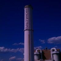 Photo taken at Baltimore BRESCO Smokestack / Wheelabrator Incinerator by Brittainy D. on 6/25/2012