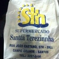 Photo taken at Supermercado Santa Terezinha by Brazil A. on 2/23/2012