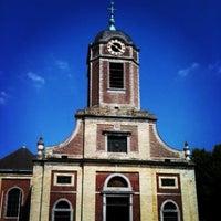 Photo taken at Parvis Saint-Pierre / Sint-Pietersvoorplein by Vincent G. on 5/31/2012