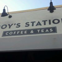 Photo taken at Roy's Station Coffee & Tea by Jonathan L. on 7/19/2012