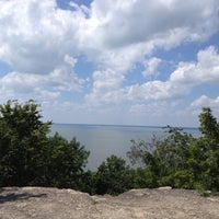 Photo taken at High Cliff State Park by Nicki on 7/31/2012